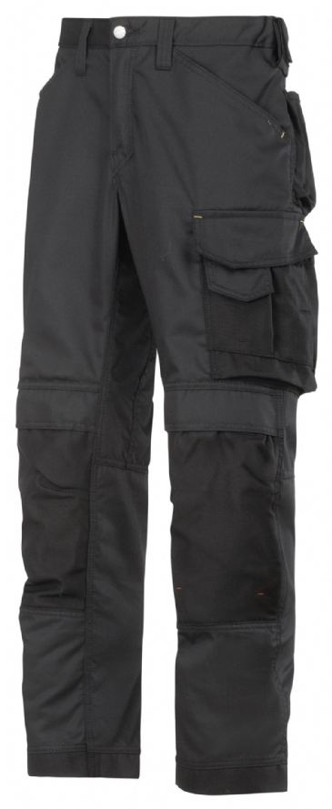 Snickers 3311 CoolTwill Craftsmen Trousers (Black / Black)